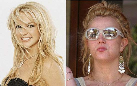 Britney Spears maquillaje 15