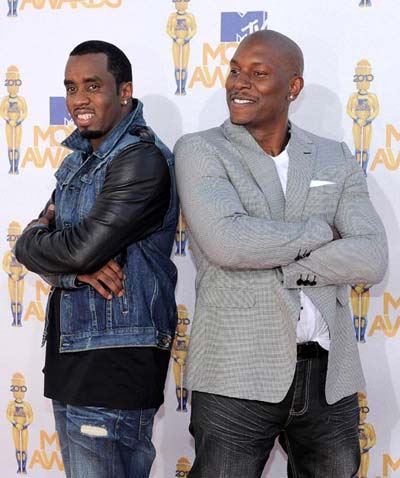 MTV sean combs tyrese gibson