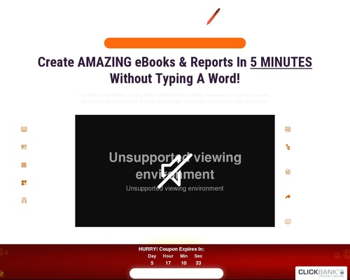 Sqribble   Worlds #1 Ebook Creator   $485 A Customer   75% Commissions