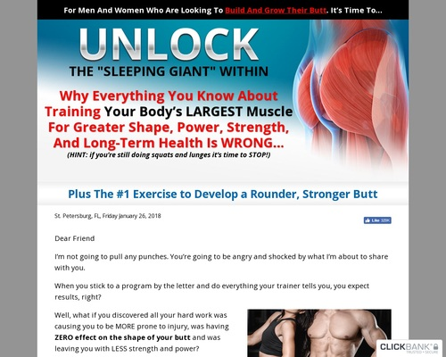 Unlock Your Glutes – Conversion Monster!
