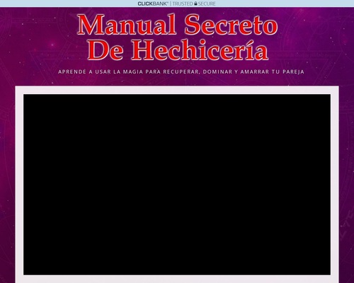 Manual Secreto De Hechiceria – Url Adaptable A Cualquier Dispositivo