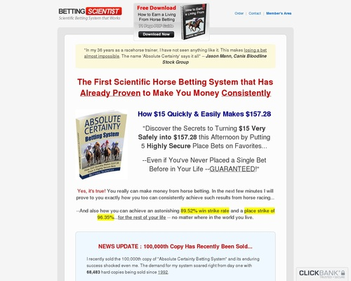 Betting Scientist: How $15 Safely Makes $157.28 In An Afternoon