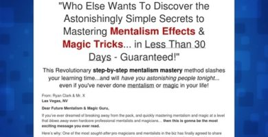 Master Mentalism & Magic Tricks! Huge Avg $$ Per Sale + Recurring $$!