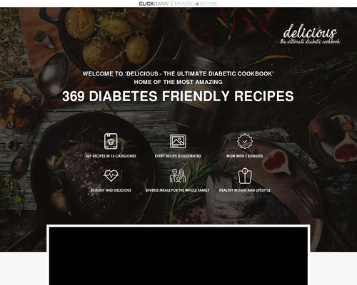 Delicious – Diabetes Friendly Recipes