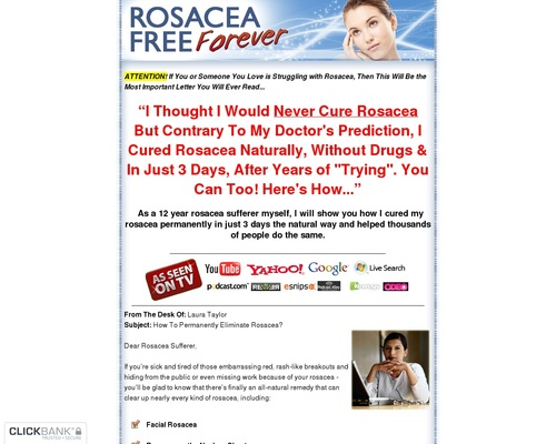 Rosacea Free Forever – Updated For 2018