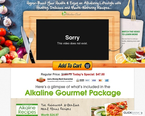 Alkaline Cookbooks & Recipes New Launch 2013!