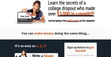 Slogan Seller – Hot Micro Niche – $100 To New Affs!