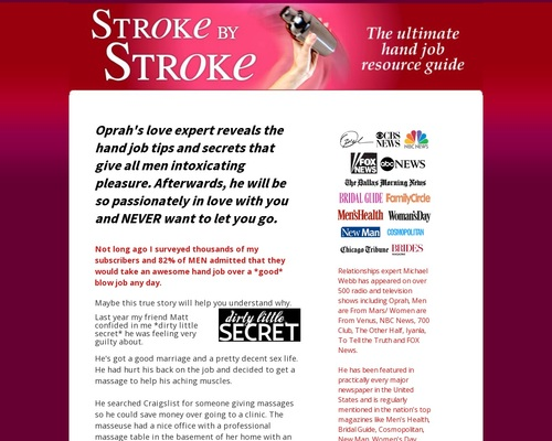Stroke By Stroke – Guide To Giving Amazing Hand Jobs