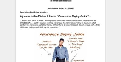 Proven Autopilot System To Generate Foreclosure Leads