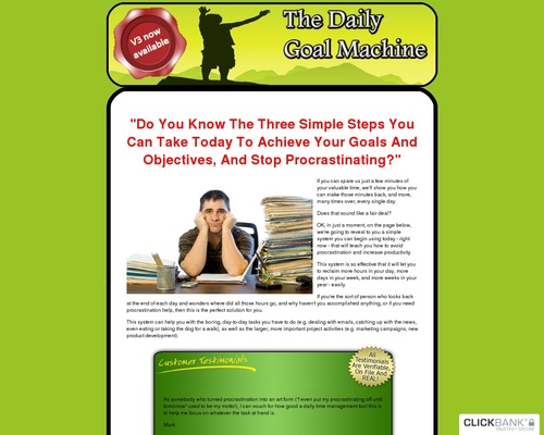 Daily Goal Software – Tools To Improve Your Life