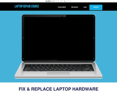Laptop Repair Video Course – 11 Hours Of Hd Video – Best On Web!