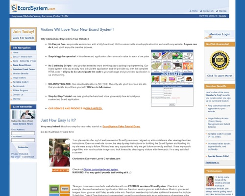 Ecard System – Earn Lifetime Recurring Income