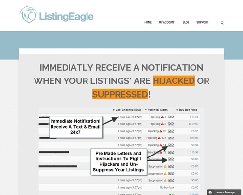 Listing Eagle – Fba Listing Monitoring Software