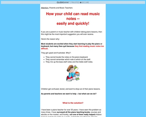Read Music Notes Easily – For Children.