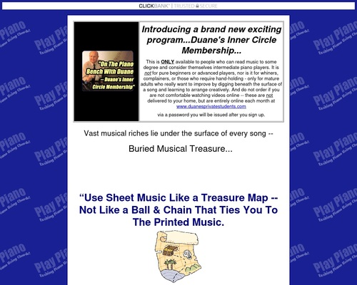 All Piano Sheet Music Has Buried Treasure In It