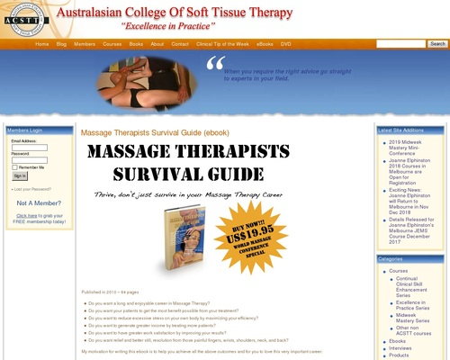 The Massage Therapists Survival Guide