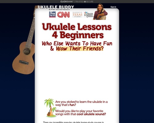 Ukulele Lessons With Good Conversion