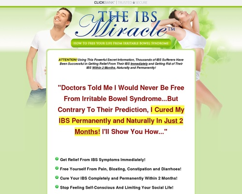 The Ibs Miracle ™ With Free 3 Months Consultations