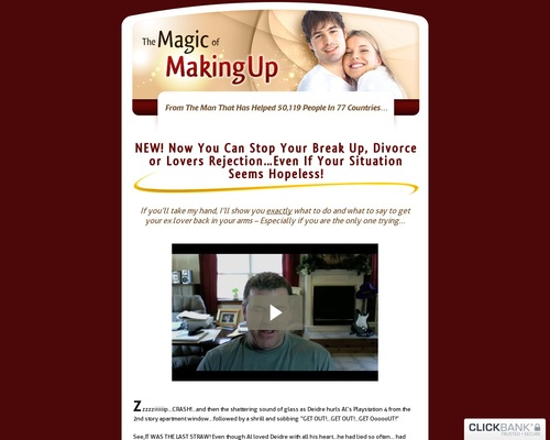 The Magic Of Making Up – Get Your Ex Back