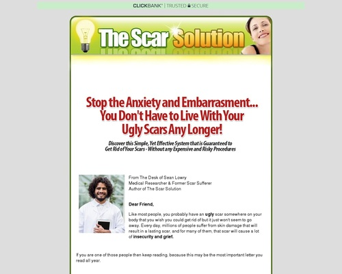 The Scar Solution – Fast, Natural Scar Removal From Home