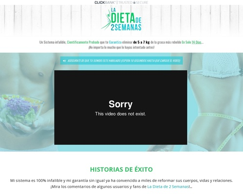 Spanish Version – The 2 Week Diet – Just Launched By Proven Sellers!