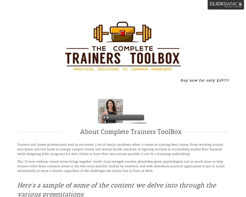 The Complete Trainers Toolbox