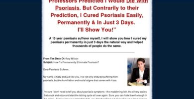 Psoriasis Remedy For Life ~ 15% Average Conversion Rate