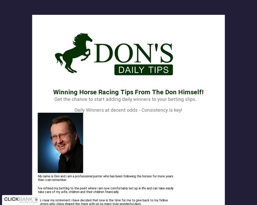 Dons Daily Tips Service