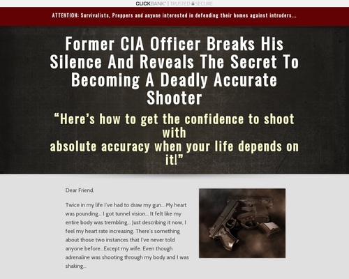 30 Day Sharp Shooter – Survival Life