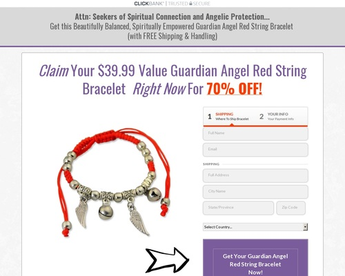 Guardian Angel Bracelet Offer With Free S&h