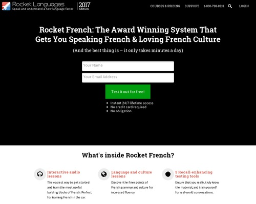 Rocket French: Earn Top Dollar Selling A Top Product That People Love!
