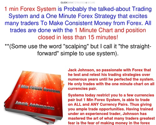 1 Min Forex System – Trade With 1 Minute Chart
