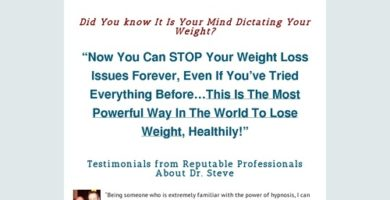 Weight Loss Hypnotherapy Audio Program