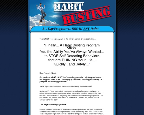 Break Bad Habits – 21 Day Program To Breaking Bad Habits