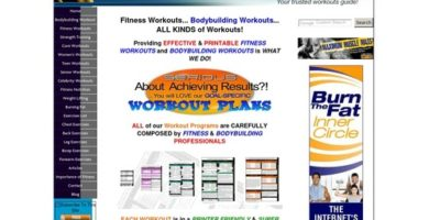 Fitness & Bodybuilding Workout Plans