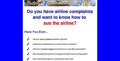 Sue The Airline – Collect Compensation Now For Your Troubles!