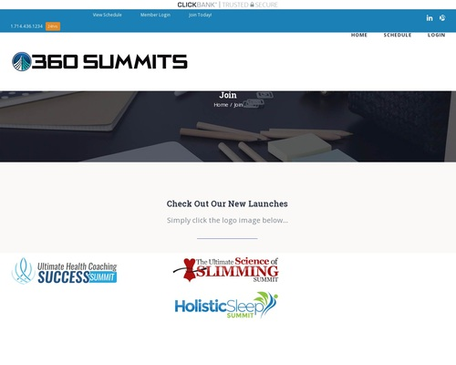 360 Virtual Summits: Health, Business, Relationships And More!