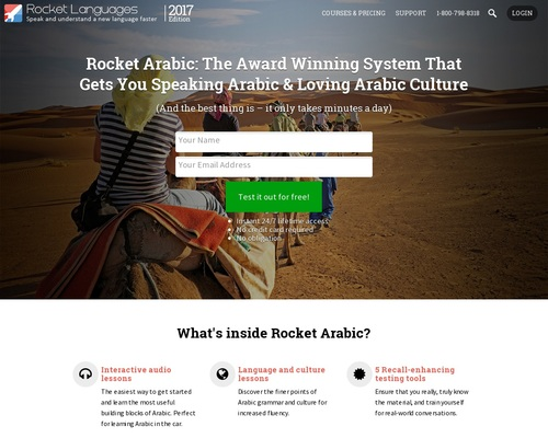 Rocket Arabic: Earn Top Dollar Selling A Top Product That People Love!