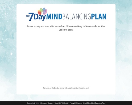 7 Day Mind Balancing Complete Sleep And Energy Optimizing System