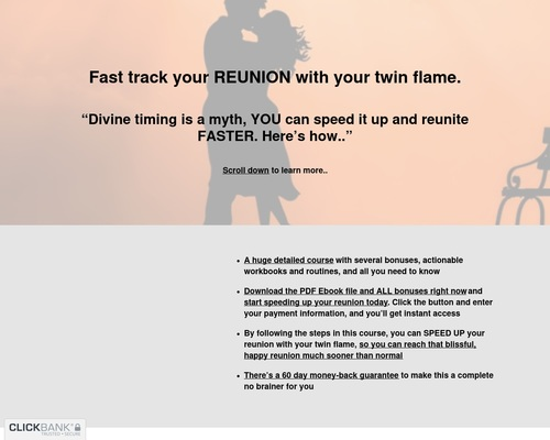 Twin Flame Reunion Fast Track Course