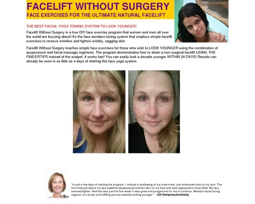 Facelift Without Surgery: Crazy 3% Conversions With New Spotlight!!!