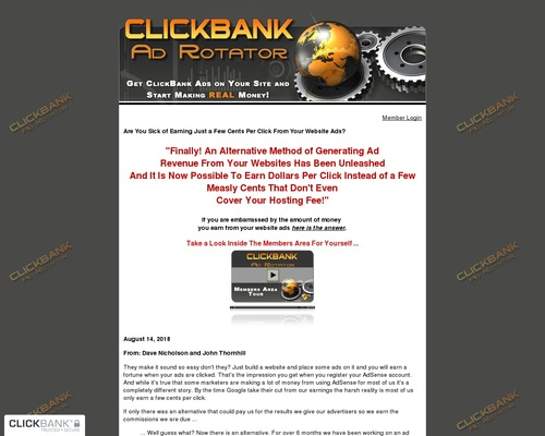 CB Ad Rotator | Generate Ads For The Top Selling Products On CB