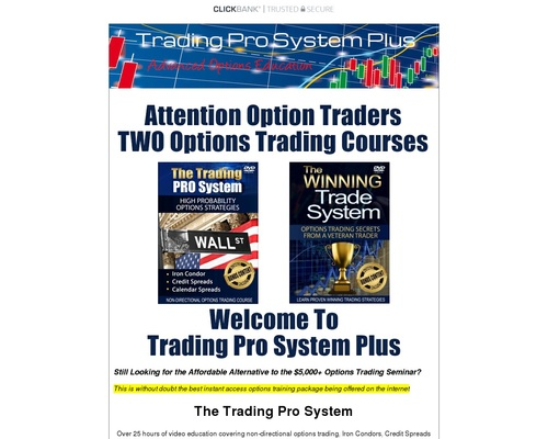 Massive Trading Options Video Course 35 Hours Video & Special Reports