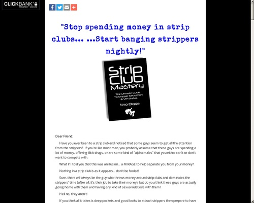 Strip Club Mastery – The Ultimate Guide To Strip Club Seduction