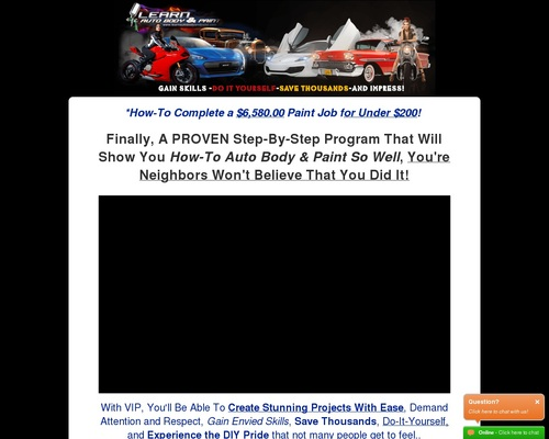 Diy Car Painting Auto Body Course – Great For Automotive Male Traffic