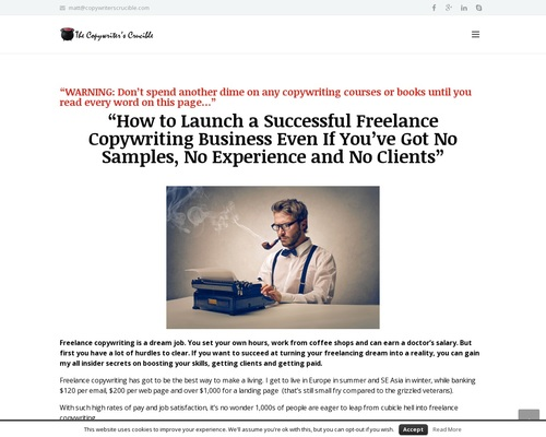 Starting A Freelance Copywriting Guide