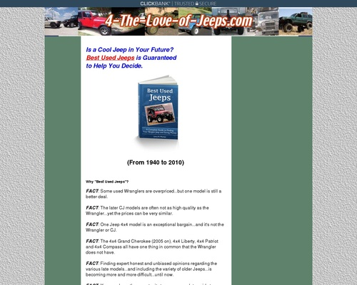 Best Used Jeeps Guide!