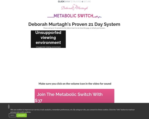 The Metabolic Swtich