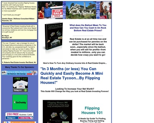 Flipping Houses 101 Ebook $$$ Earn 75