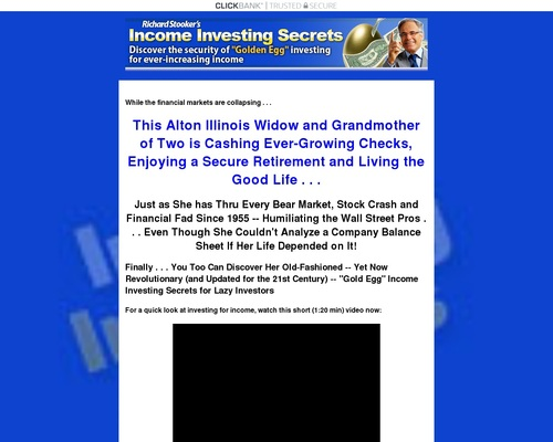 Income Investing Secrets System